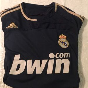 2007/2008 Adidas Real Madrid away jersey size M